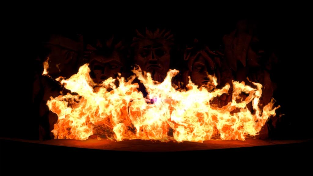 火影岩ナイト・イリュージョン投影イメージ